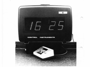The Portable Electronic Display System was developed by Terry Ashwin in 1979